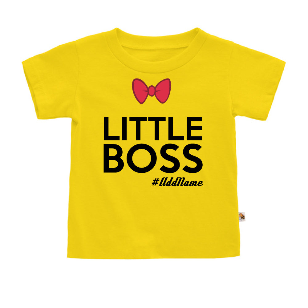 Teezbee.com - Little Boss - Kids-T (Yellow)