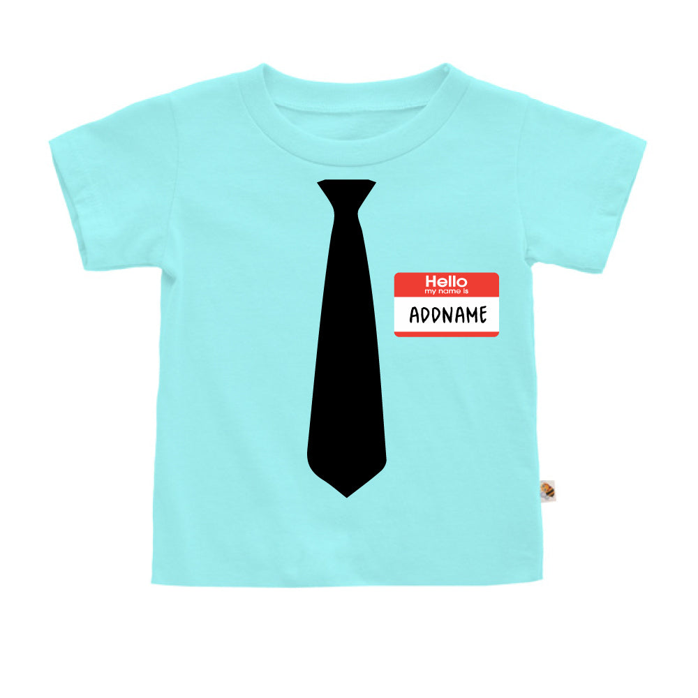 Teezbee.com - Hello Tie - Kids-T (Light Blue)