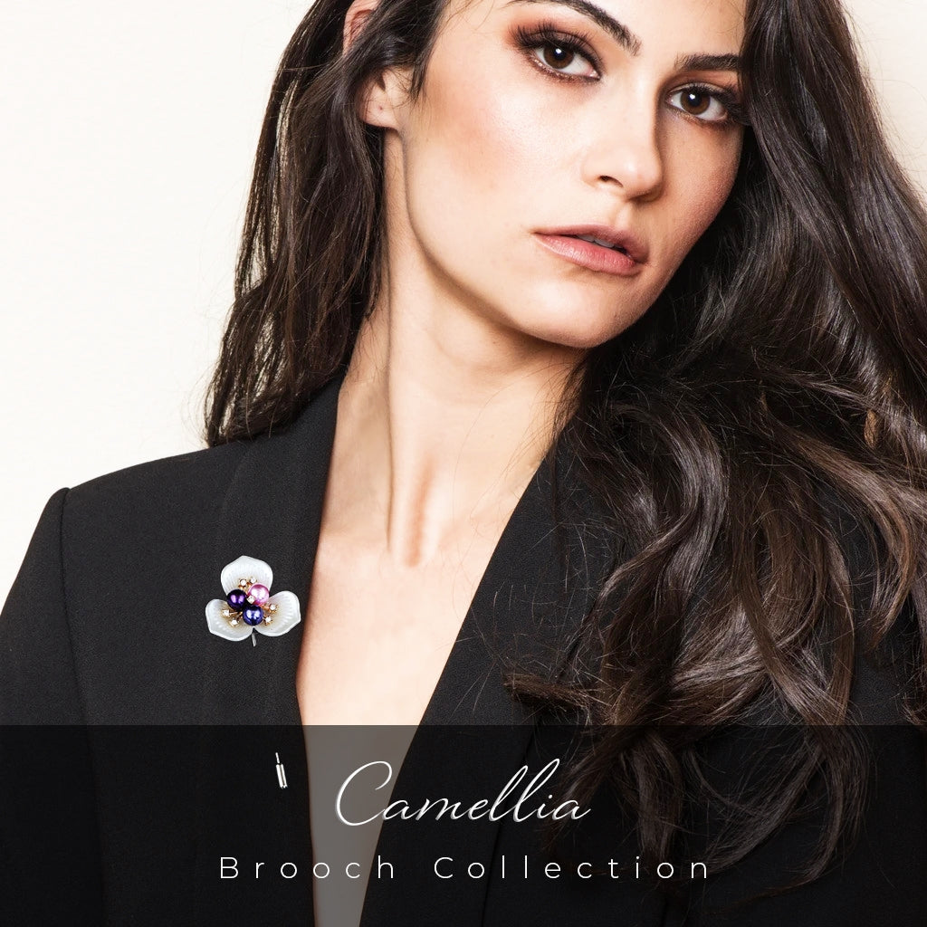 Teezbee.com - Camellia Collection (8 Brooches)