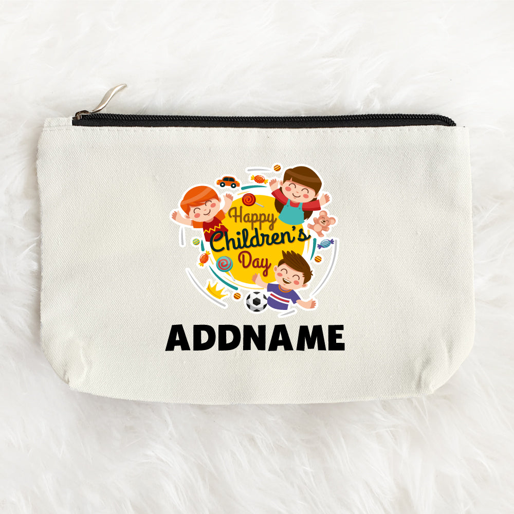Teezbee.com - Happy Children Zipper Pouch