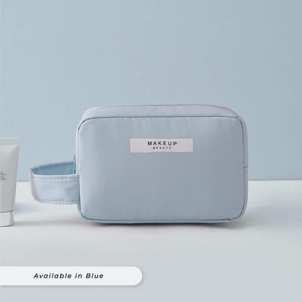 Teezbee.com - Personalised Cosmetic Pouch (mini | Blue)