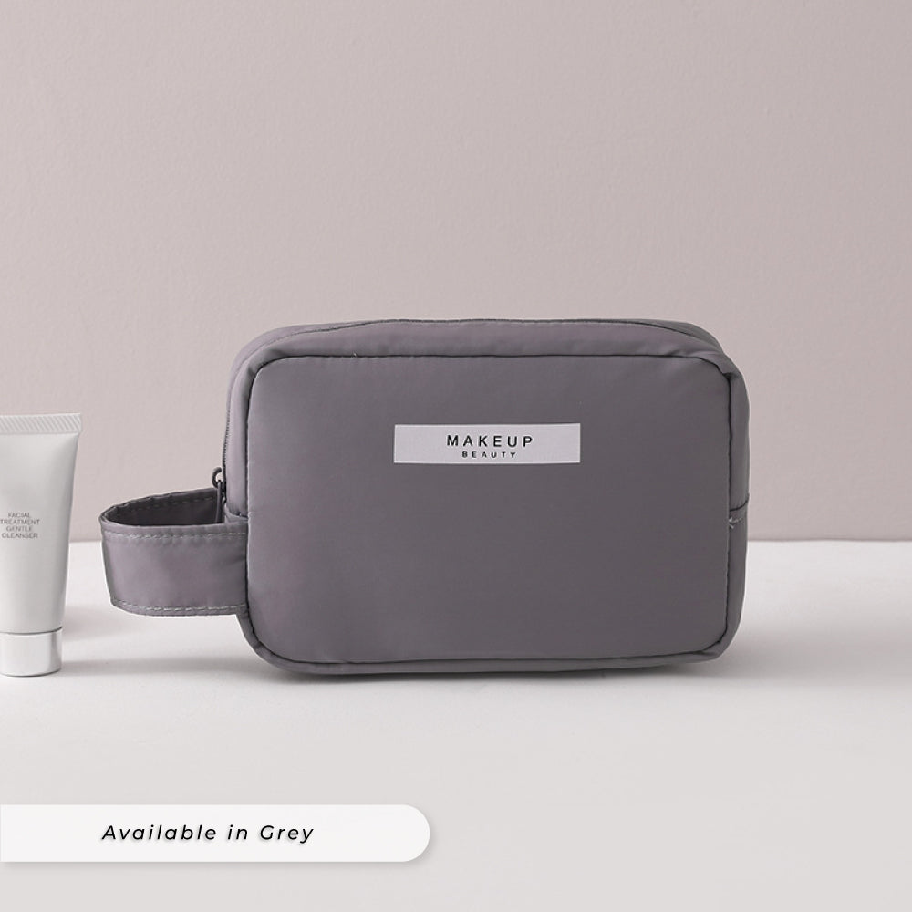 Teezbee.com - Personalised Cosmetic Pouch (mini | Grey)