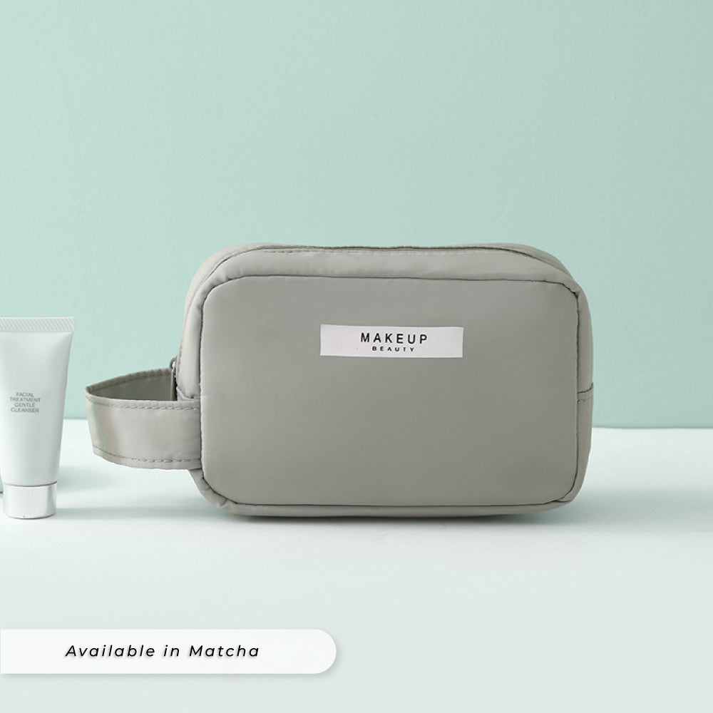 Teezbee.com - Personalised Cosmetic Pouch (mini | Matcha)