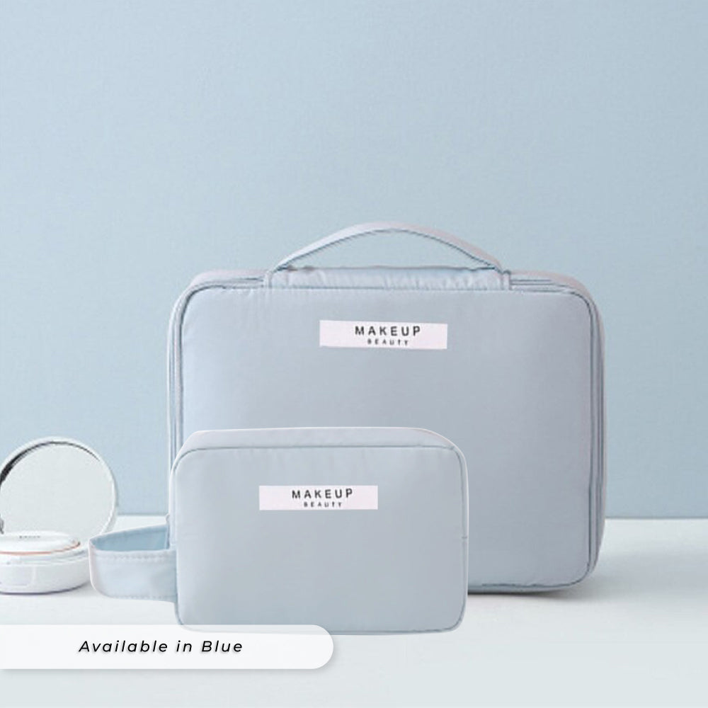 Teezbee.com - Personalised Cosmetic Pouch Set (Blue)