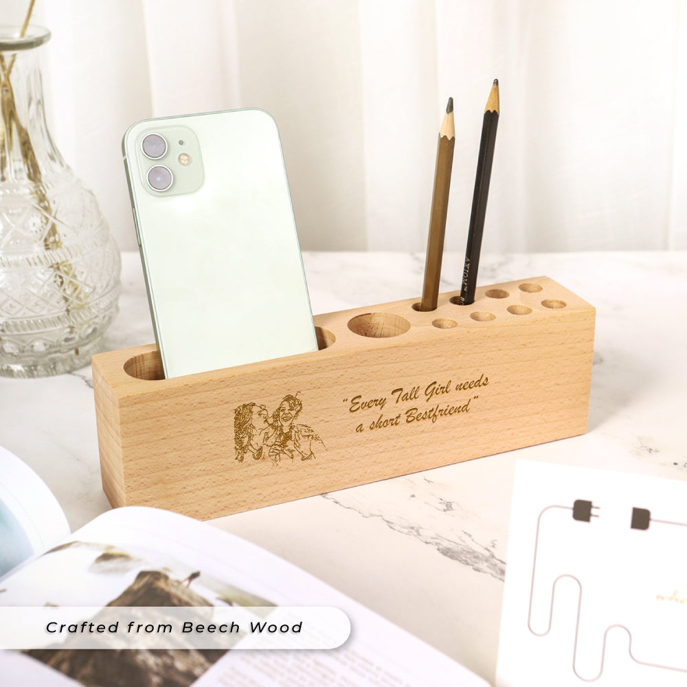 Teezbee.com - Personalised Desk Organiser Holder