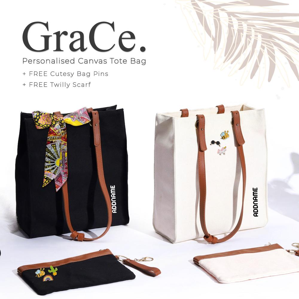 Teezbee.com - Combo Deal (Grace + Boni + Notebook)