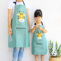 Teezbee.com - Animal Cartoon Apron Set (Green)