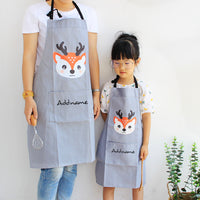 Teezbee.com - Animal Cartoon Apron Set (Grey)