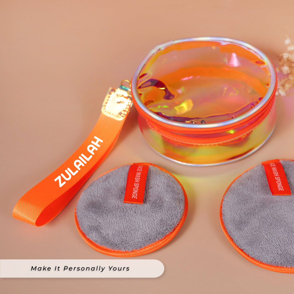 Teezbee.com - Hologram Pouch (Skincare & Cosmetic)
