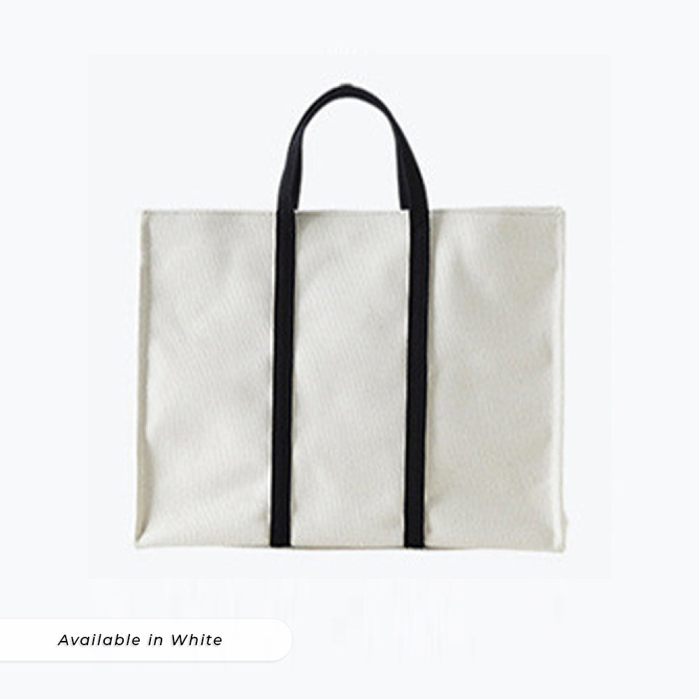Teezbee.com - LUNA Canvas Bag (White)