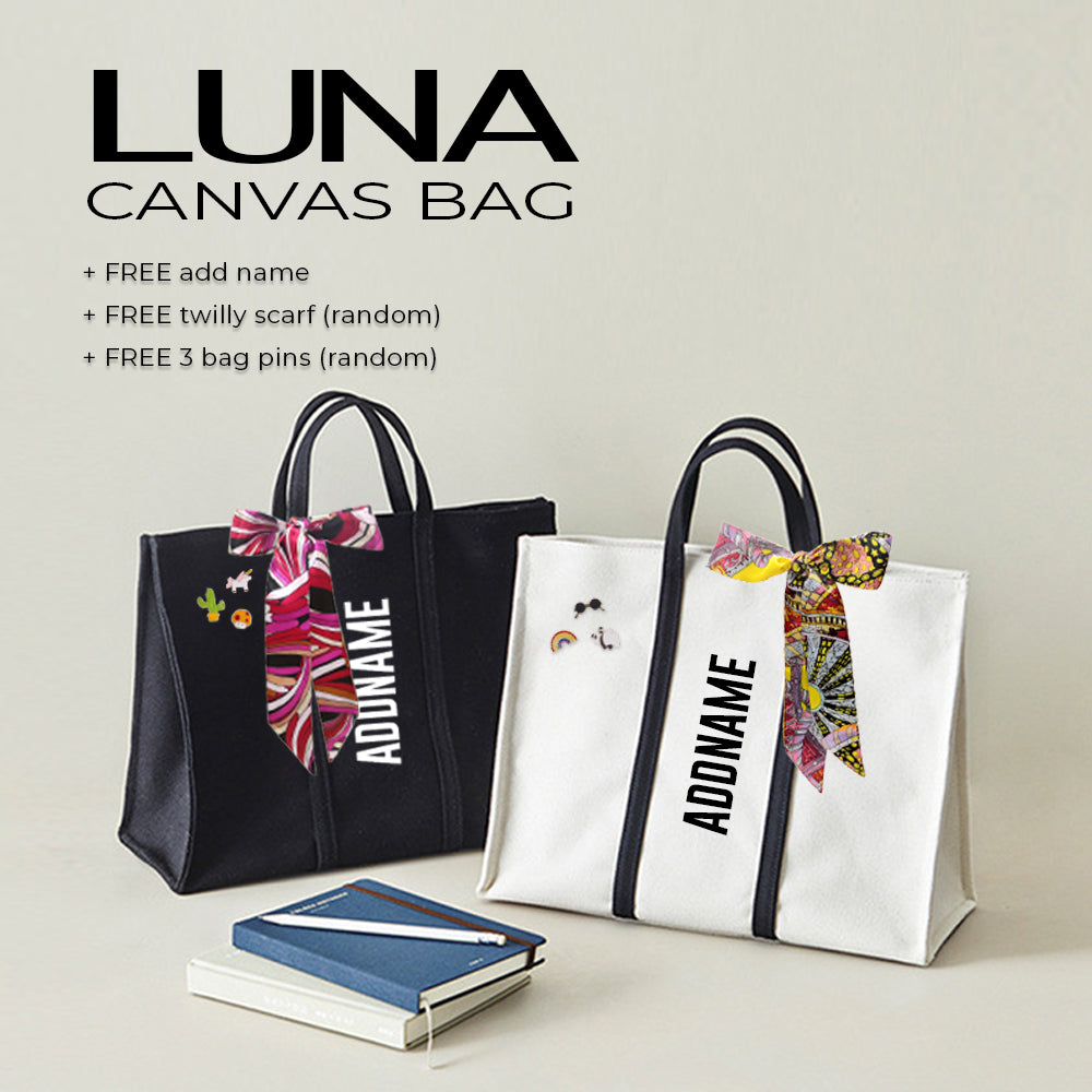 Teezbee.com - LUNA Canvas Bag