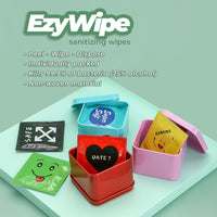 Teezbee.com - EzyWipe Sanitising Box (1 box of 10 packs)