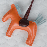 Teezbee.com - Pony Charm (Tangerine Orange)