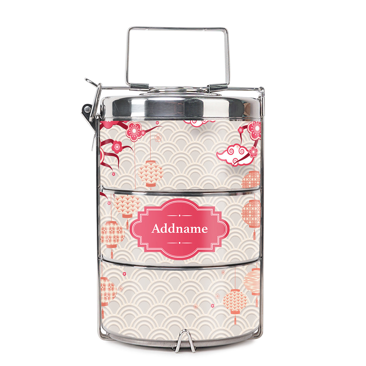 Teezbee.com - Sakura Insulated Tiffin Carrier