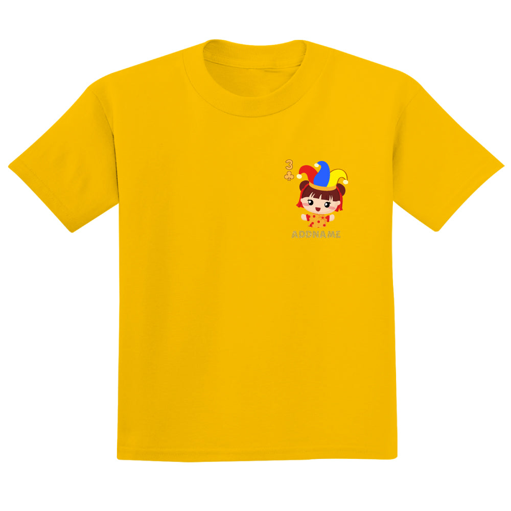 Teezbee.com - Pocket Girl 3 - Adult-T (Yellow)