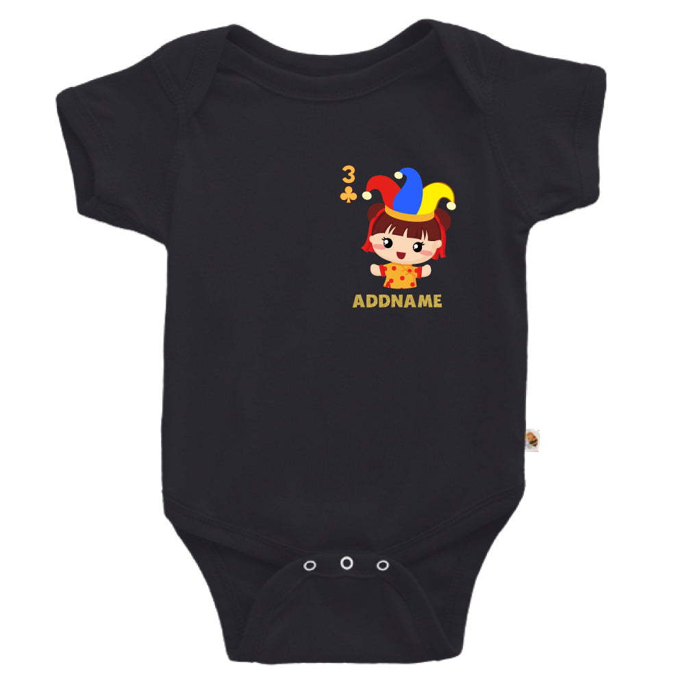 Teezbee.com - Pocket Girl 3 - Romper (Black)