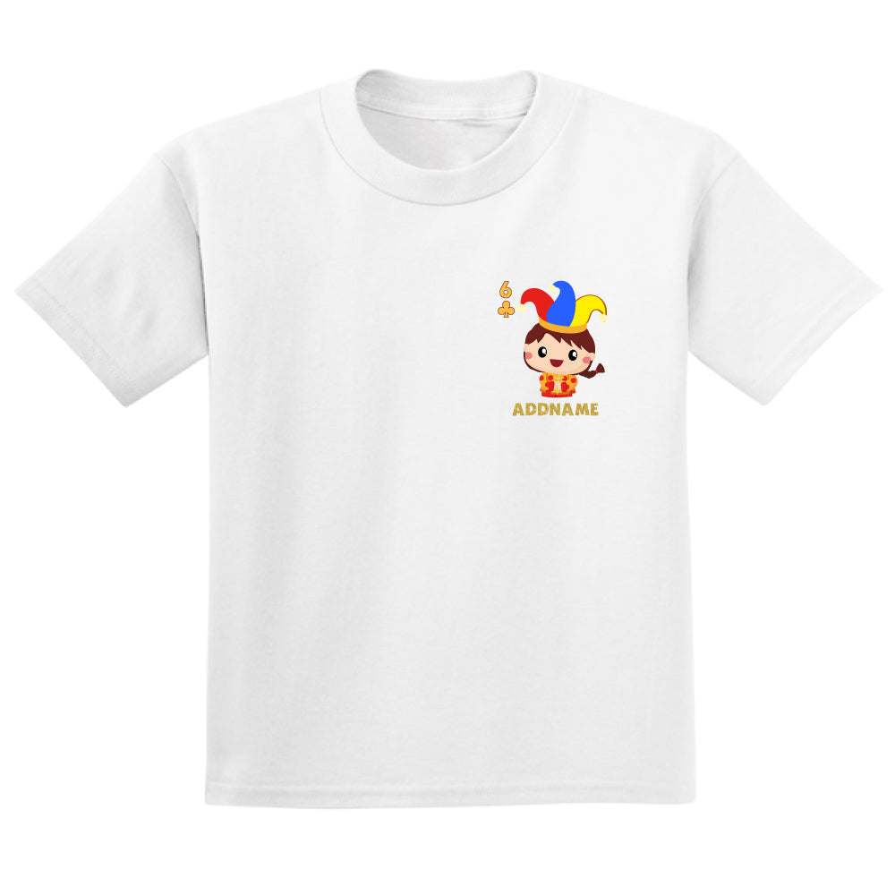Teezbee.com - Pocket Boy 6 - Adult-T (White)