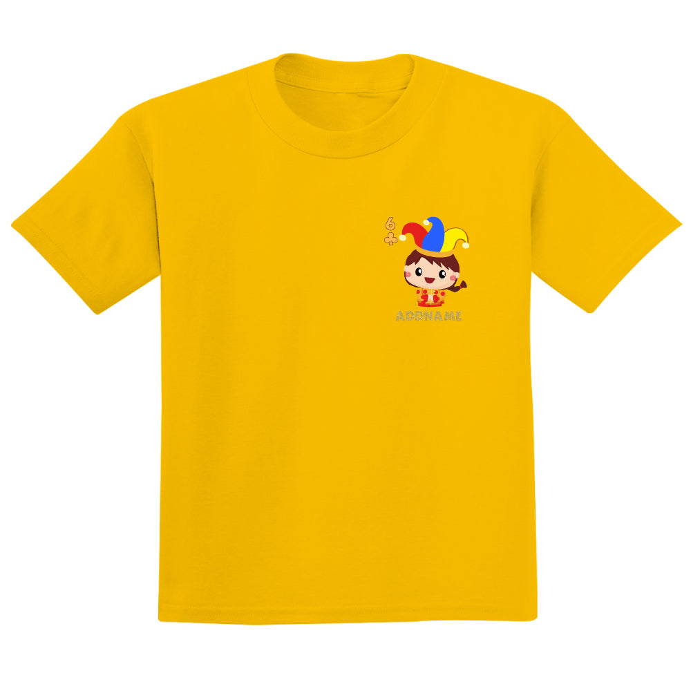Teezbee.com - Pocket Boy 6 - Adult-T (Yellow)