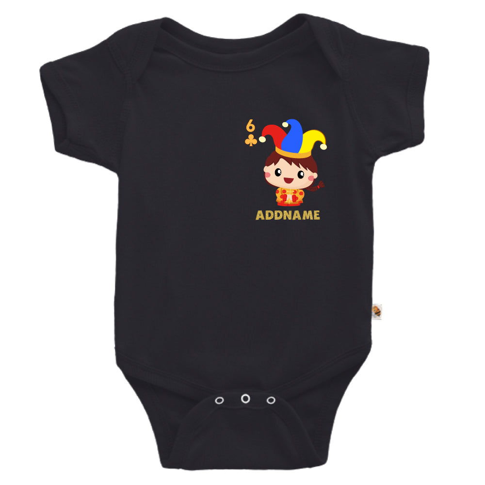 Teezbee.com - Pocket Boy 6 - Romper (Black)