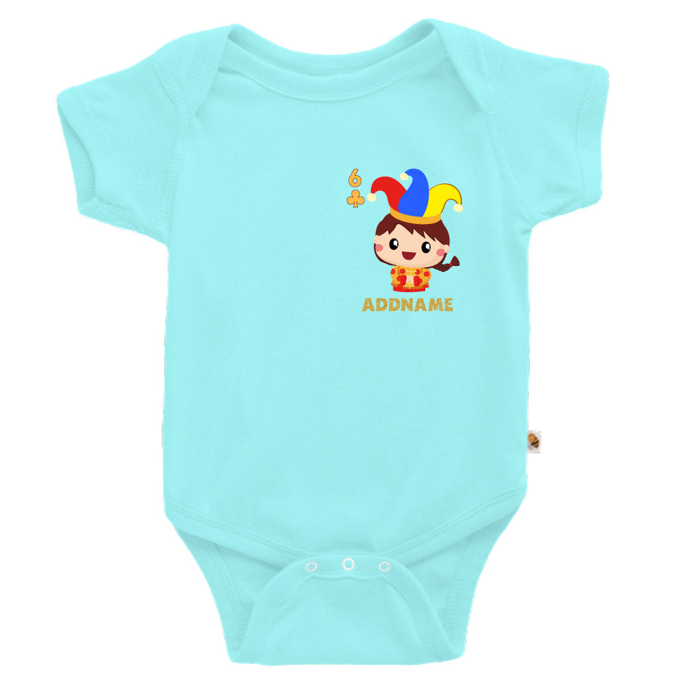 Teezbee.com - Pocket Boy 6 - Romper (Light Blue)