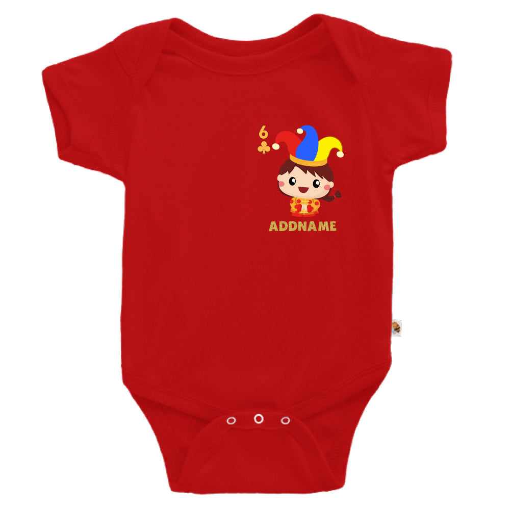 Teezbee.com - Pocket Boy 6 - Romper (Red)
