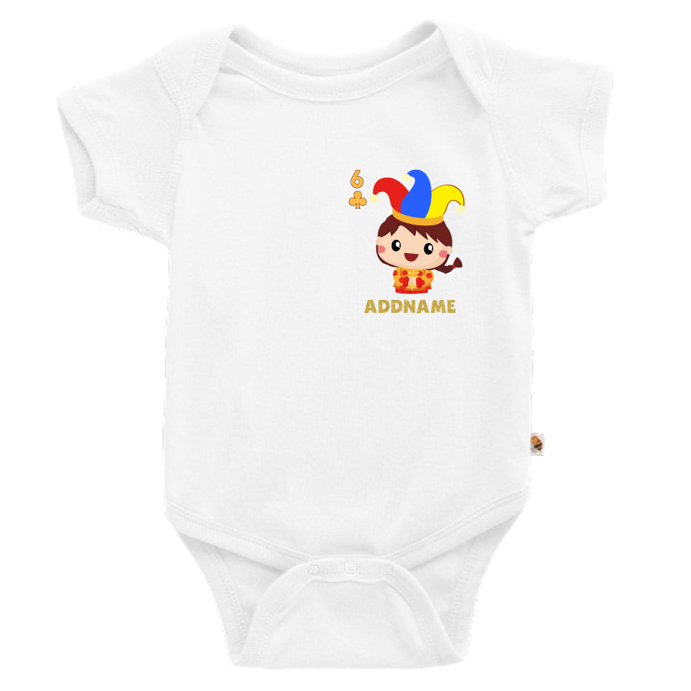 Teezbee.com - Pocket Boy 6 - Romper (White)