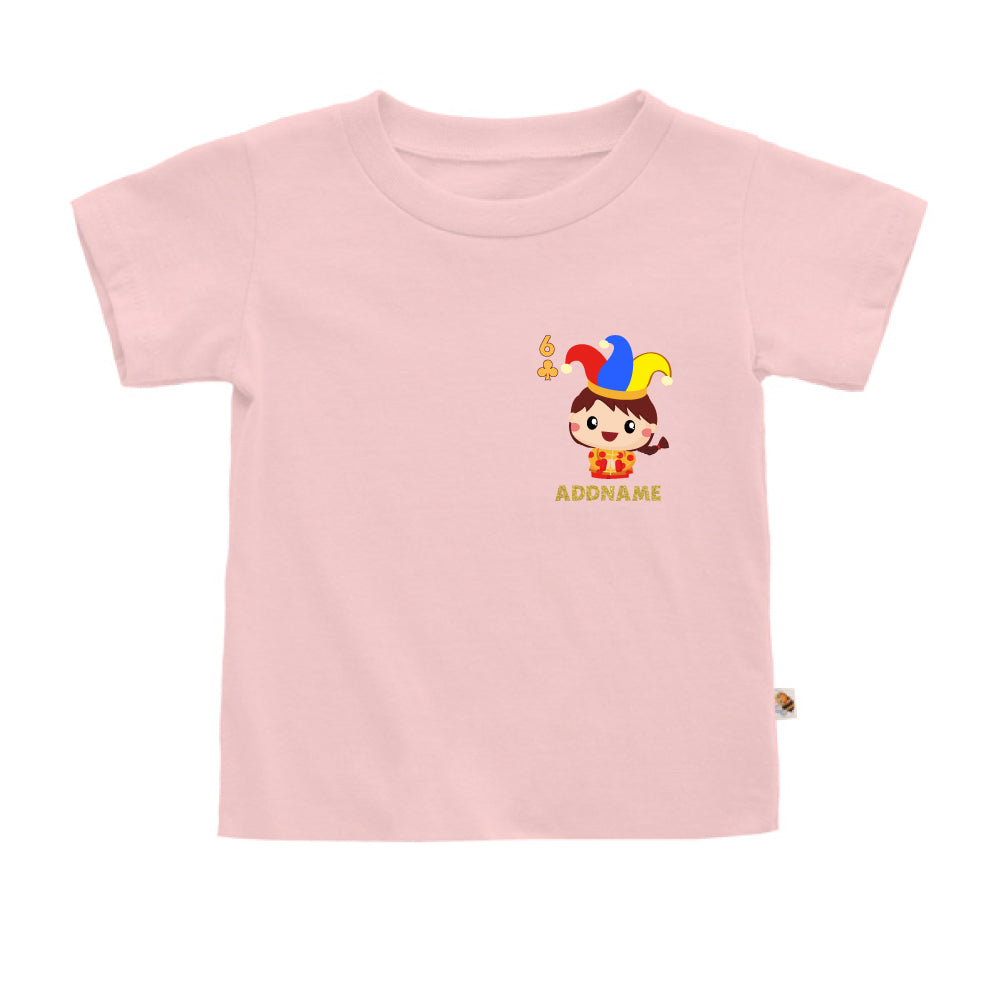 Teezbee.com - Pocket Boy 6 - Kids-T (Pink)