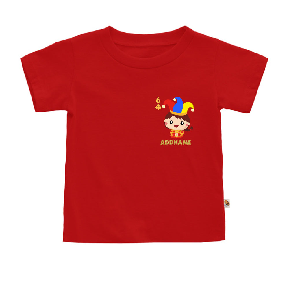 Teezbee.com - Pocket Boy 6 - Kids-T (Red)