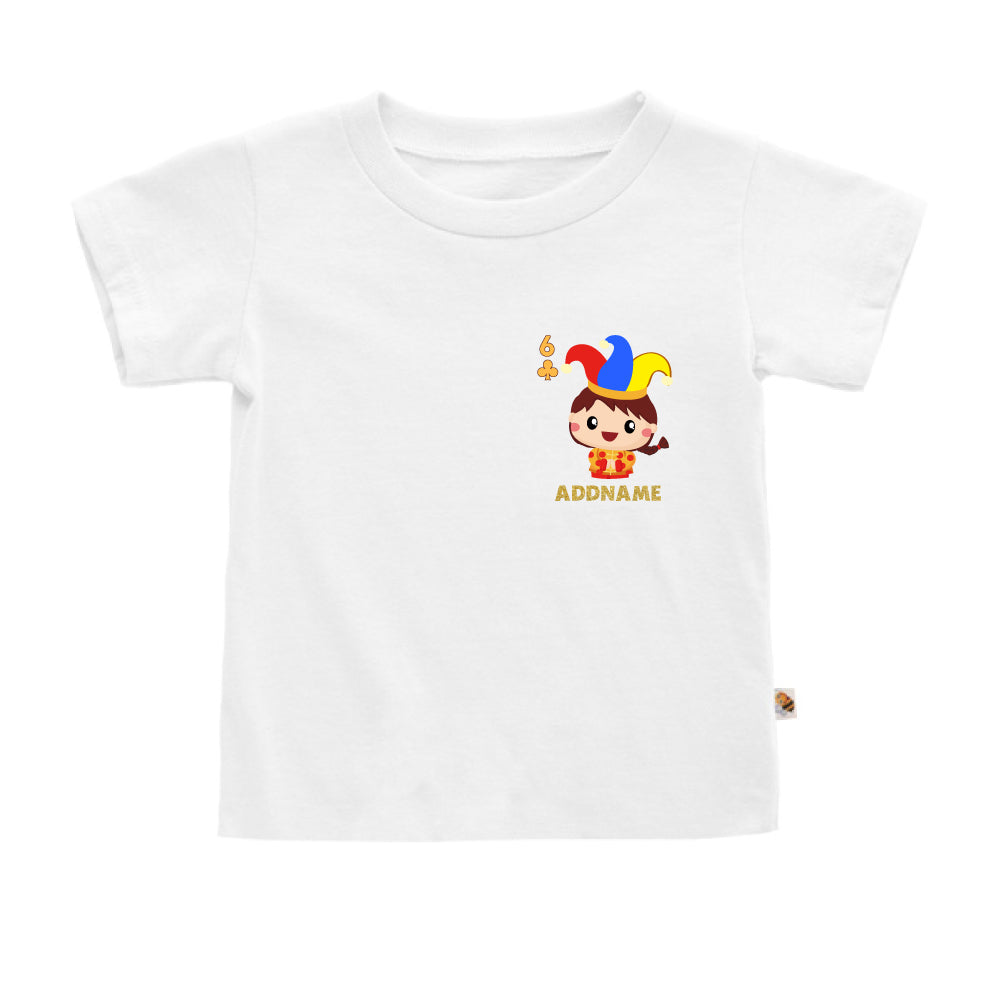 Teezbee.com - Pocket Boy 6 - Kids-T (White)