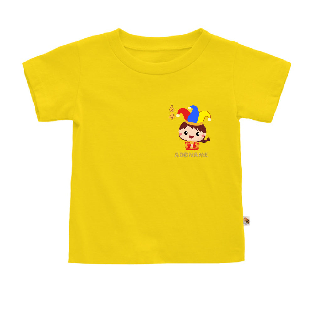 Teezbee.com - Pocket Boy 6 - Kids-T (Yellow)