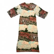 Load image into Gallery viewer, 1960'S GARDEN SCENE DRESS