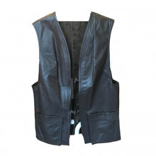 Load image into Gallery viewer, 1970S BROWN LEATHER WAISTCOAT