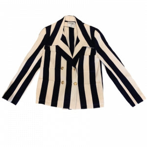 1980'S CHANEL STRIPED BLAZER