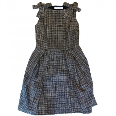 CHRISTIAN DIOR TWEED BOW DRESS