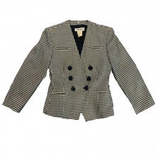 Load image into Gallery viewer, GUY LAROCHE HOUNDSTOOTH JACKET