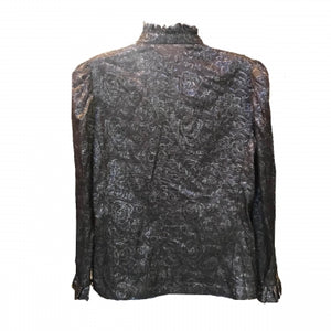 METALLIC J. SHERRER TOP