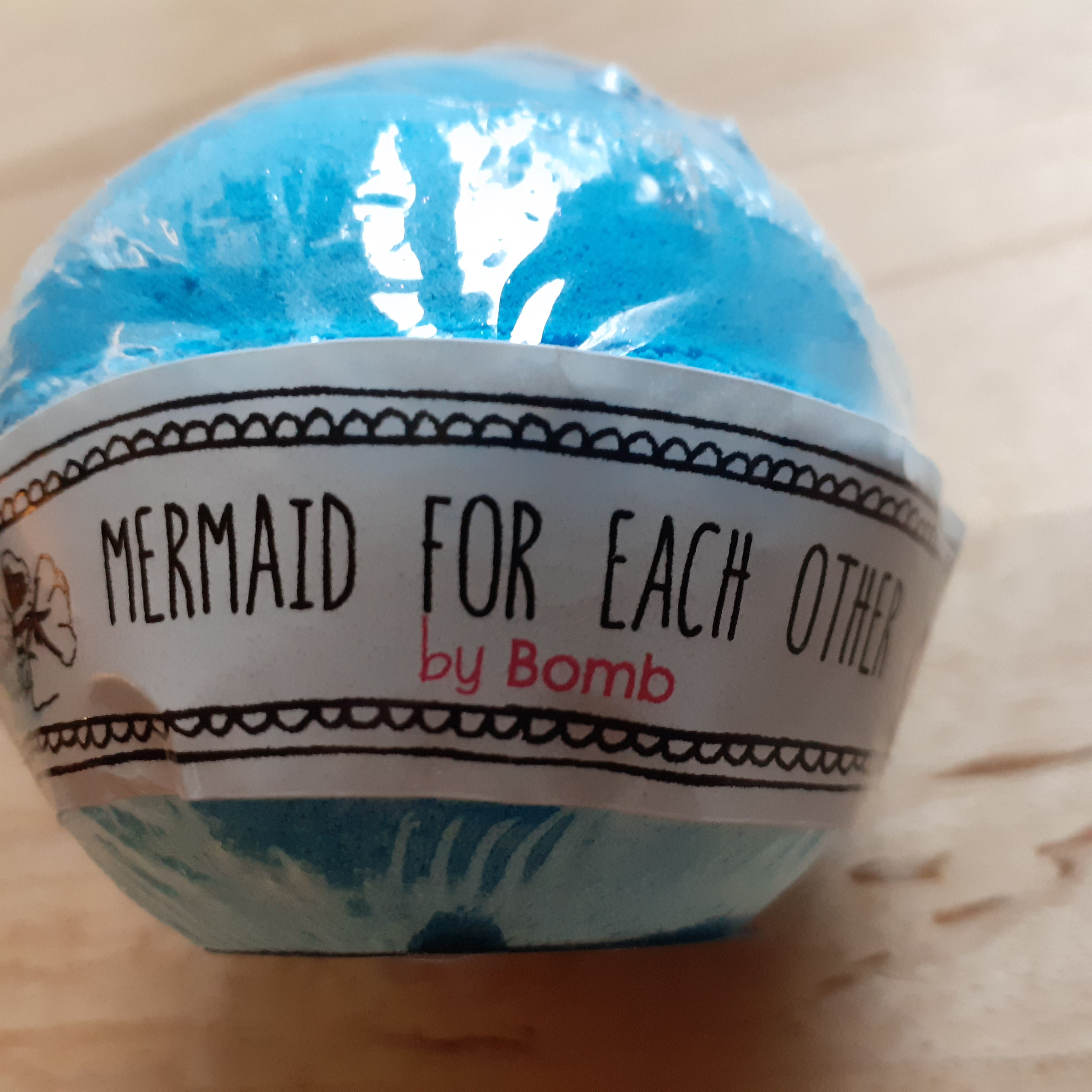 Mermaid for Each Other Bath Bomb - Luvit!