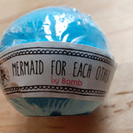 Load image into Gallery viewer, Mermaid for Each Other Bath Bomb - Luvit!