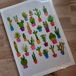 Load image into Gallery viewer, Cactus Collection Love- hand signed A4 Print - Luvit!
