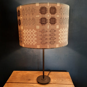 Welsh Tapestry Grey Lampshade
