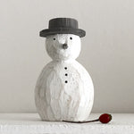 Load image into Gallery viewer, Rounded Wooden Snowman