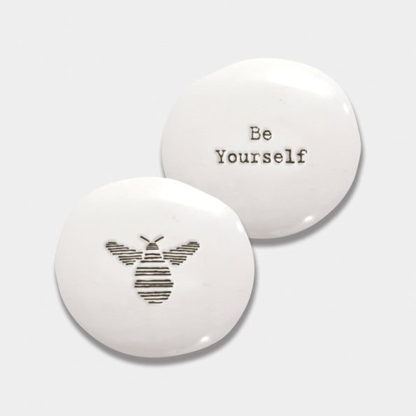 Ceramic Pebble - Be Yourself