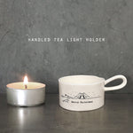 Load image into Gallery viewer, 'Merry Christmas'  ceramic tea light holder