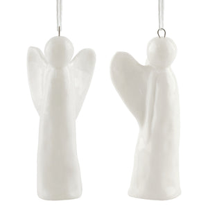 Porcelain Hanging Angel Decoration