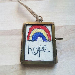 Mini Rainbow Frame (HOPE) - Luvit!