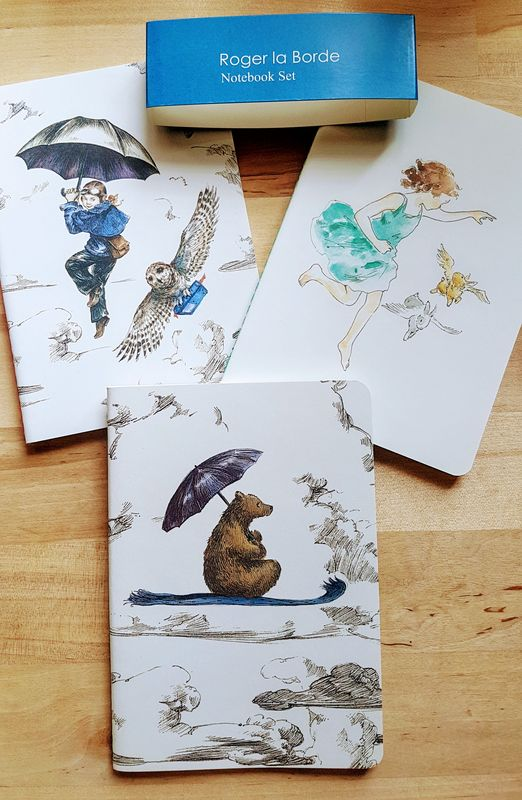 Mondoodle  -  Pack of 3 Notebooks - Luvit!