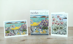 Wallet of Notecards -Sea Pinks & Pebble Shore
