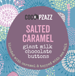 Load image into Gallery viewer, Giant Milk Chocolate Buttons - Salted Caramel