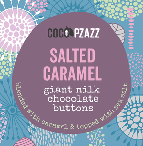 Giant Milk Chocolate Buttons - Salted Caramel