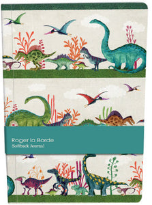 Dinosaur Softback Journal